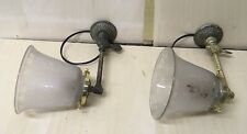 PAIR OF VICTORIAN BRASS SCONCES