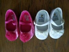 2 Pair Gently Used Baby Girl Shoes size 1 -  Goldbug & Place
