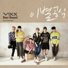 VIXX SINGLE ALBUM [ BOYS' RECORD ] BOOKELET+PHOTO CARD+PHOTO -ON PACK
