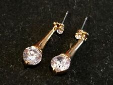 Simulated Mixed Metals Costume Earrings