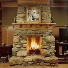 How to Build a Fireplace Wood Burning Make Gas Log Ceramic Propane on CD DVD