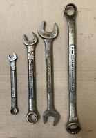 Craftsman Series Wrenches Lot Of 4 Made In Usa