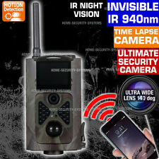 Wireless Camera 3G GSM MMS Alarm Home Security Cam Trail Home Farm No Spy Hidden