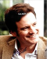 COLIN FIRTH #1 REPRINT AUTOGRAPHED SIGNED 8X10 PICTURE PHOTO COLLECTIBLE RP