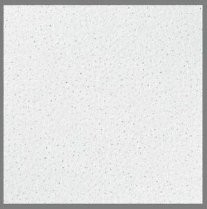 10x Sand Texture Office Acoustic Suspended Ceiling Tiles 595mm x 595mm