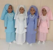 Nation of Islam ( Muslim ) M.G.T. & G.C.C Doll Blue Garment