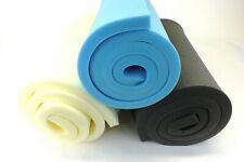 "upholstery foam sheets cushions 80"" x 20"" any thickness. Firm medium soft foam"
