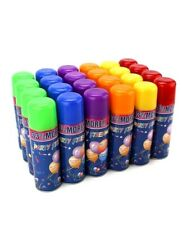 12 Cans Silly Goofy Crazy Prank Party String Spray Streamer Wedding Supplies