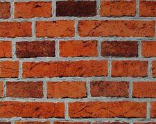 Steintapete AS Dekora Natur 7798-16 779816 Tapete Steine Ziegel Mauer rot