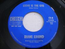 PROMO Diane Emond Steve is the One / The Beginning of the End 1963 45rpm VG++