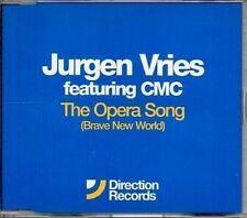 (594Z) Jurgen Vries feat. CMC, The Opera Song - DJ CD