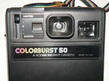 Kodak ColorBurst 50 Polaroid Camera 1979-1982 Colour Burst Made in USA
