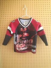 Pirates Of The Caribbean Hockey Jersey 2006 Special Edition Youth Small