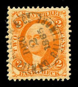 momen: US Stamps #R6c Revenue Used GEM