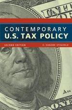 Contemporary U.S. Tax Policy (Urban Institute Press), Acceptable Books