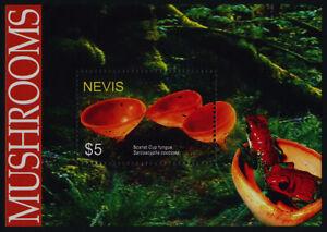 Nevis 1421 MNH Mushrooms