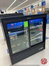 True Gdm 41sl 48 Hc Ld Sliding Glass Door Commercial Refrigerator Cooler Used