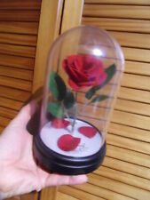 Disney La Belle et la Bête Beauty and the Beast Enchanted Rose lampe sous globe