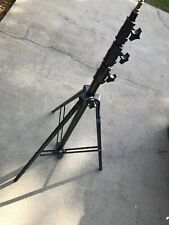 Manfrotto 11 FT Black 3 SECTION Stand CALUMET (004B)used