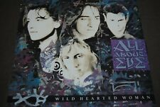 """ALL ABOUT EVE """"Wild Hearted Woman"""" 12"""" MAXI VINYL / MERCURY RECORDS - EVENX6"""