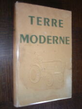 TERRE MODERNE - 1950 - Tracteurs Renault - Agriculture