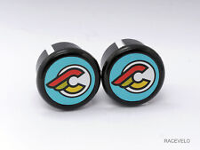 cinelli laser Plugs Caps guidon tapones bouchons lenker vintage style flat New