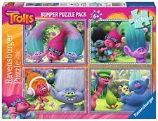 Ravensburger puzzle 4x100 trolls - Juegos Compañía