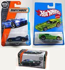 Lot Of 3 Matchbox Hot Wheels Dodge Viper - Plymouth Cuda - Plymouth Arrow