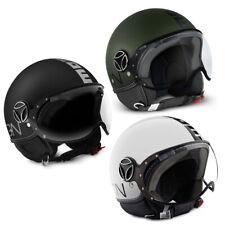Cara abierta casco Momo Design Fgtr Clásico Motocicleta Crash Demi-Jet Premium