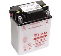 Genuine YUASA YB12C-A Battery with Acid Pack