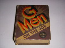 G Men on the Job, Big Little Book, BLB #1168, 1935, Whitman, VG!