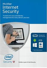 Download McAfee Internet Security 10 Users - Latest Edition (PC/Mac/Android/iOS)