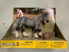 CollectA New * Shire Mare - Grey * 88574 With Feeder Boxed Set