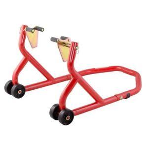 Biketek Series 3 Red Motorcycle Motorbike Front Paddock Stand