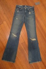 7 For All Mankind Distressed Flare Jeans. Size 25. NWT