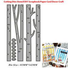 Birch Tree Metal Cutting Dies DIY Craft Stencil Paper Card Decor Die Cuts HI