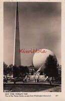 Postcard RPPC postcard New York World's Fair Theme Center 1940