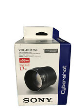 Sony VCL-DH1758 Tele Conversion Lens for DSC-H1 H2 H5 Digital Cameras