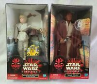 Hasbro Star Wars Episode I Mace Windu/Anakin Skywalker Action Figures (NIB)