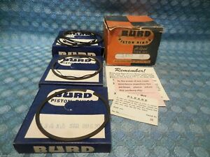 1954 & 1957-1958 Packard 8 Cyl NORS Piston Ring Set STD (See Detailed Ad)