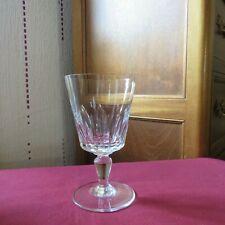 1 verre a eau en cristal  de baccarat modèle Biarritz  signé H 14, 4 cm