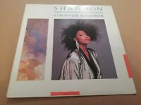 """SHANNON * STRONGER TOGETHER * 7"""" SINGLE P/S EXCELLENT 1985"""