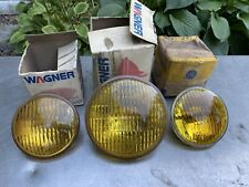 NOS GE 4415A 1960s FORD MUSTANG GT FOG LIGHT BULBS AMBER SET Lot 4412a Wagner