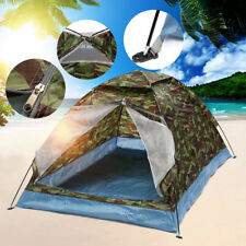 1-2 Person Camouflage Camping Tent Outdoor Hiking Travel Waterproof Carry