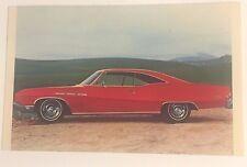 1968 BUICK LE SABRE promotional postcard  Dearden Buick  Langhorne, Pennsylvania