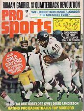 1971 (Jan.) Pro Sports Football magazine, Gale Sayers, Chicago Bears ~ Good