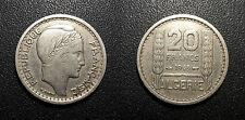 Algérie - occupation française - 20 francs 1949