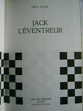 JACK L'EVENTREUR-Tom A CULLEN-Livre Rare Relié
