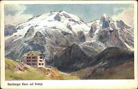 Passo Fedaia Dolomiten Pass Italien Südtirol ~1900 Bamberger Haus auf Fedaia