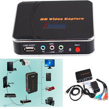 1080P HD PVR Game Video Capture HDMI/YPBPR Recorder For Xbox 360 Live PS3/PS4 E@
